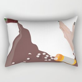 Save Me Rectangular Pillow