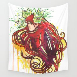 Flower Sprite Wall Tapestry
