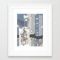 flight Framed Art Prints featuring flight by Madmi
