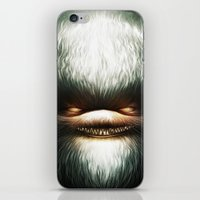 evil iPhone & iPod Skins featuring Little Evil by Dr. Lukas Brezak