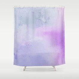 Soft Watercolours - Lavendar Shower Curtain