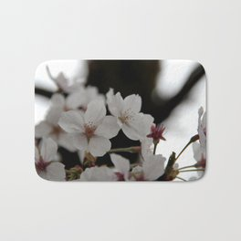 Sakura blossoms up close Bath Mat