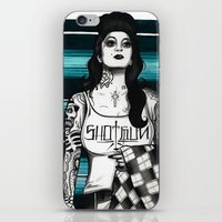 gangster iPhone & iPod Skins featuring gangster by frankcaponefelix