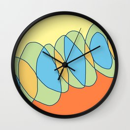 Interlace Wall Clock