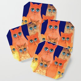 Annapolis Whimsical Cats Coaster