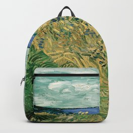 """Vincent Van Gogh """"Wheat Field With Cornflowers"""" Backpack"""
