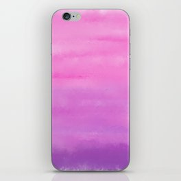 Sunset Clouds Abstract iPhone Skin