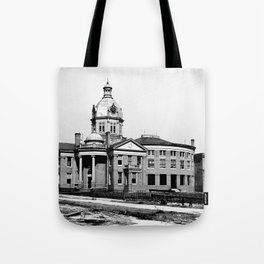 Gulfport, Mississippi Courthouse Tote Bag