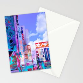 Tokyo in my dreams Stationery Cards