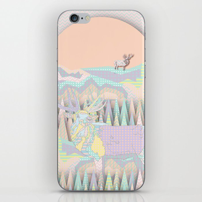 Deer Forest iPhone Skin