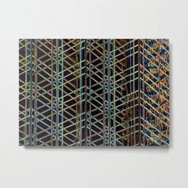 Abstract Design 1 Metal Print