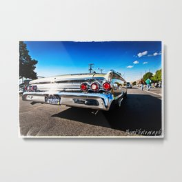 1963 Mercury Monterey Lowrider Metal Print