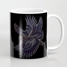 Moonlight Raven Coffee Mug