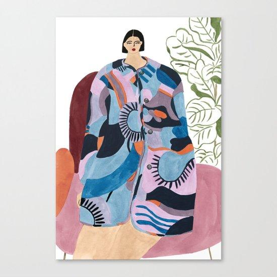 Obus Coat Canvas Print