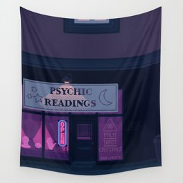 Psychic Readings Wall Tapestry