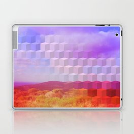 Ultra Surreal Countryside Violet Rainbow Laptop & iPad Skin