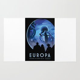 Europa - NASA Space Travel Poster Rug