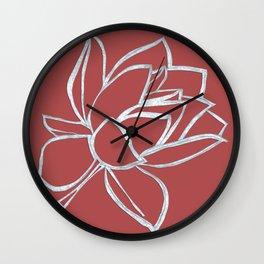 Cut up Pink Wall Clock