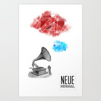 record Art Prints featuring Record by Evan Abramsky