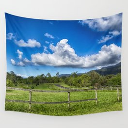 Idyllic rural view Wall Tapestry