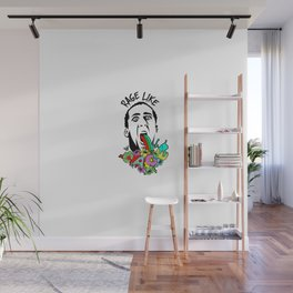 Rage Like Cage Wall Mural