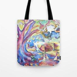 Technicolor Bella Tote Bag