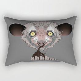Aye-Aye Lemur Rectangular Pillow