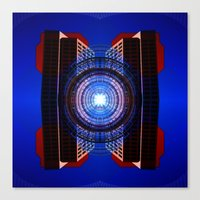 stargate Canvas Prints featuring STARGATE by Adam Yasmin