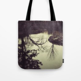 Liquid Curves Tote Bag