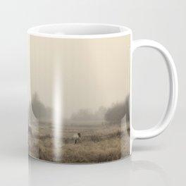 Horses in the Mist Coffee Mug