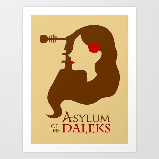 Asylum of the Daleks Art Print