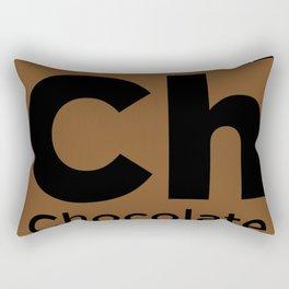 Chocolate Element Rectangular Pillow