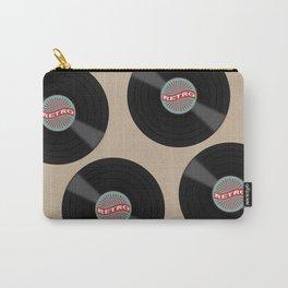 Retro Vinyl Record Carry-All Pouch