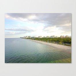 laudy beach Canvas Print