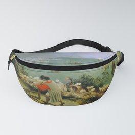 "Pieter Bruegel (also Brueghel or Breughel) the Elder ""Landscape with the Fall of Icarus"" Fanny Pack"