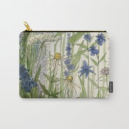 Wildflowers 2 watercolor Carry-All Pouch