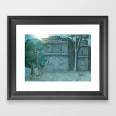 The Night Gardener - Title Page Framed Art Print