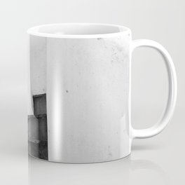 Black and White Stairs Coffee Mug
