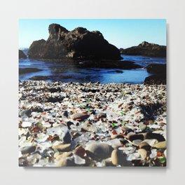 Glass Beach, Fort Bragg California Metal Print