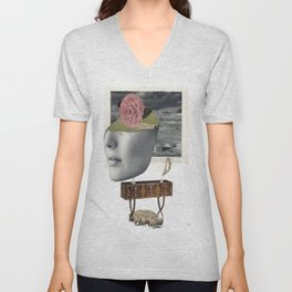 """""""Your Dreams Were Always Taken For Granted"""" by Winn Smith Unisex V-Neck"""