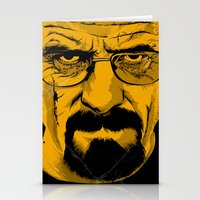 breaking bad Stationery Cards featuring Breaking Bad by The Art Warriors