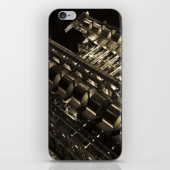 Gold Lloyds iPhone & iPod Skin