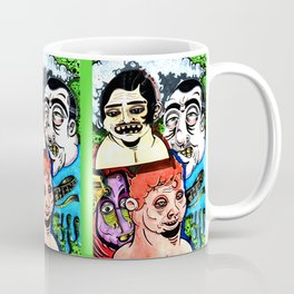 Street Faces Coffee Mug