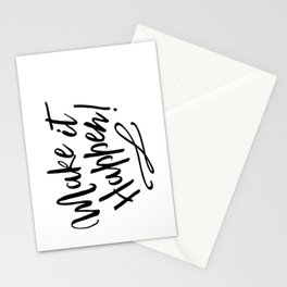 Make it Happen Stationery Cards