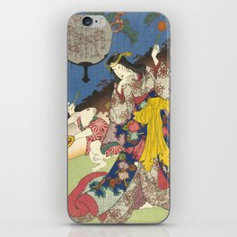Draw of the Hare - Japanese Art iPhone Skin