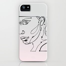 transparent like the eyes (letting everything go) iPhone Case