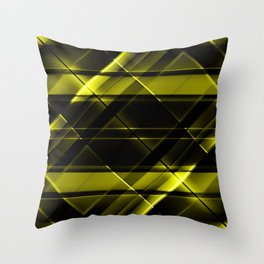modern stripes pattern c8 Throw Pillow