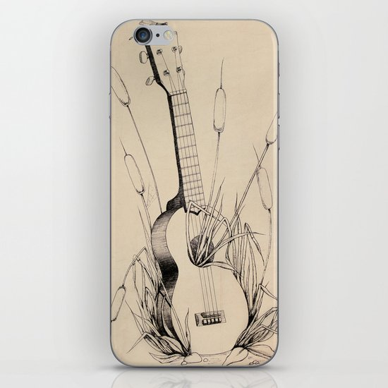 Ukulele iPhone & iPod Skin