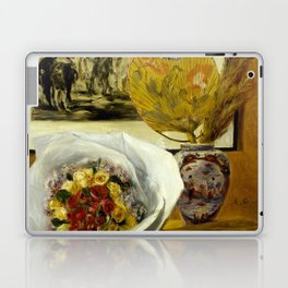 Still Life with Bouquet Laptop & iPad Skin