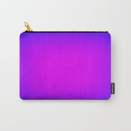 Fuchsia Purple Blue Focus Carry-All Pouch